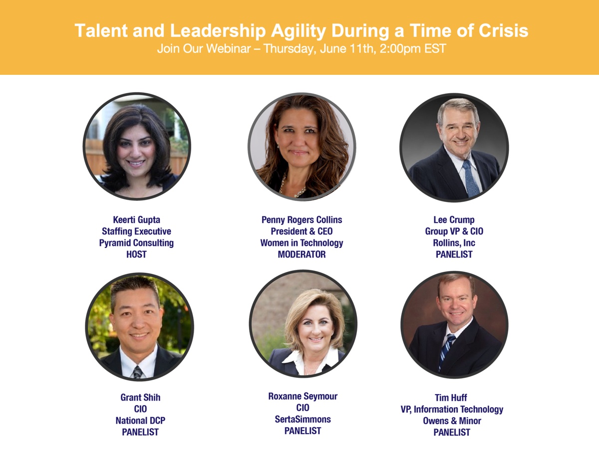 Talent and Leadership Agility During a Time of Crisis Webinar