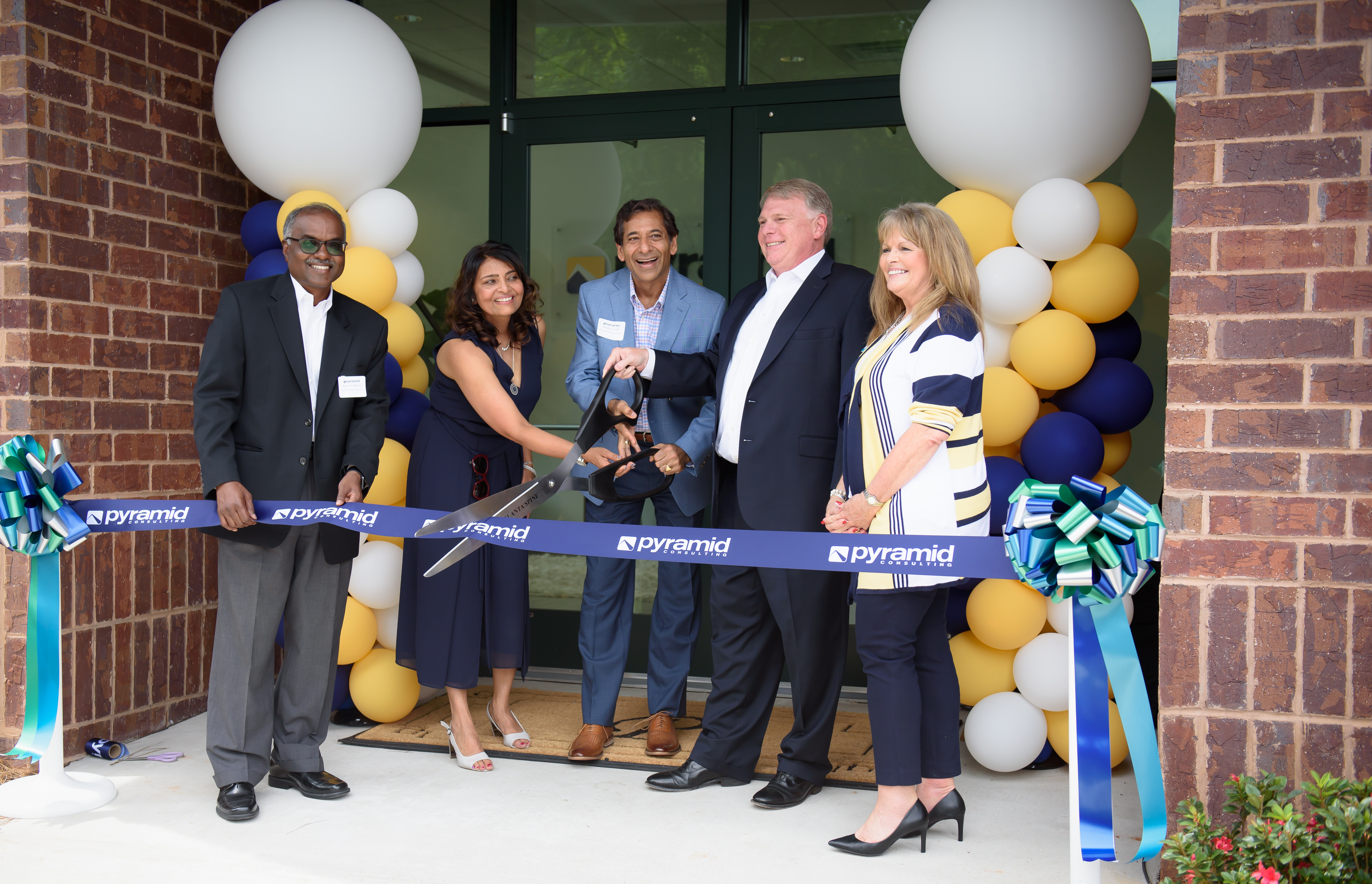 Pyramid's Global HQ Ribbon Cutting and Open House