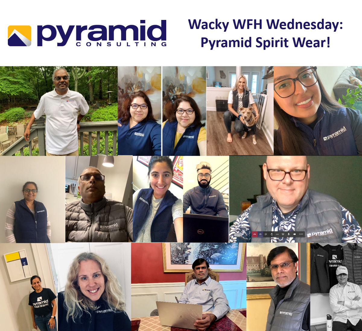 Wacky WFH Wednesday: Pyramid Spirit Wear